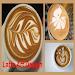 Latte Art Design Icon
