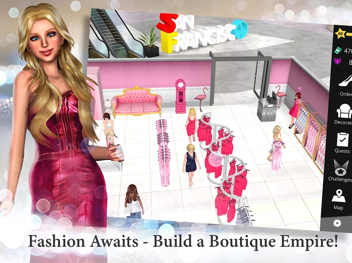Fashion Empire - Boutique Sim Screenshot 8
