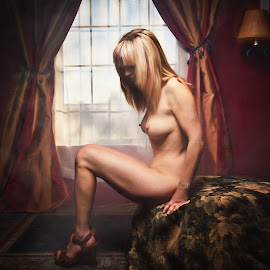 Nice Shoes by Dennis Bater - Nudes & Boudoir Artistic Nude