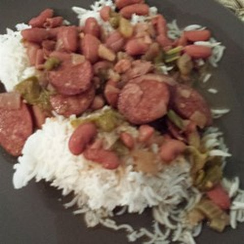 Authentic, No Shortcuts, Louisiana Red Beans and Rice