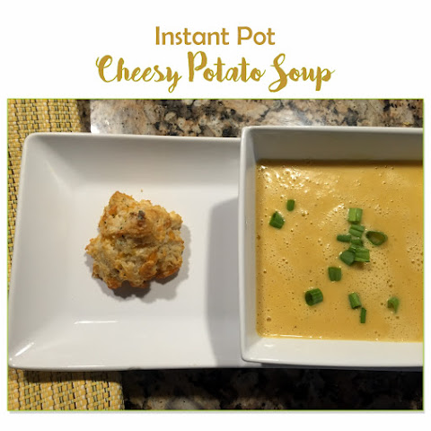 Instant Pot Cheesy Potato Soup