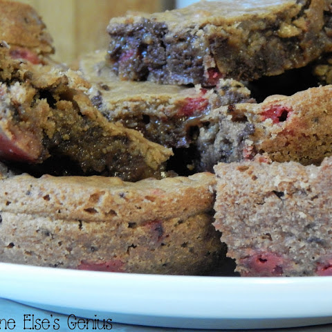 Red Hot Mocha Blondies