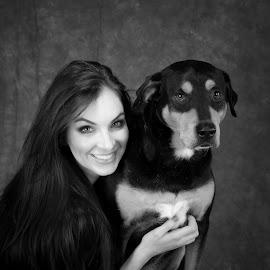 Rotti Love by Peter Marzano - Animals - Dogs Portraits