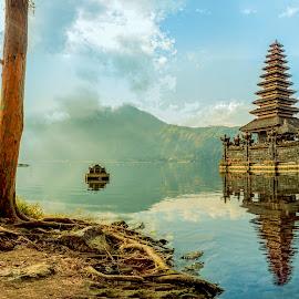 The Panorama of Kintamani - Bali by Ade Irgha - Landscapes Travel ( bali, hindu's temple, kintamani, vsit bali, lake )