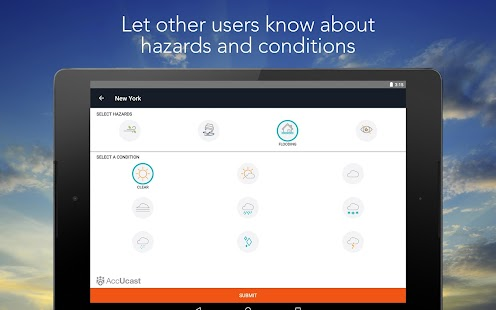 App AccuWeather APK for Kindle
