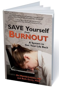 Cover of the book: Save Yourself from Burnout: A System to Get Your Life Back