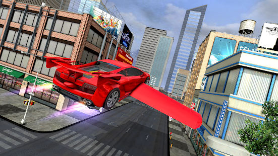 Flying Sports Car Simulator for pc