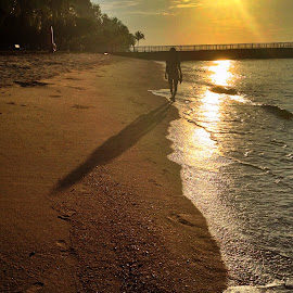 Walking with my shadow by Janette Ho - Instagram & Mobile iPhone (  )