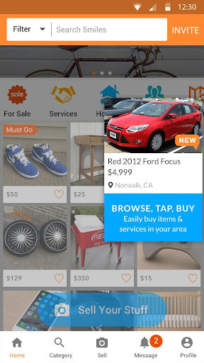 5miles: Buy and Sell Used Stuff Locally For PC