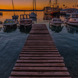 end of the day by Eseker RI - Transportation Boats