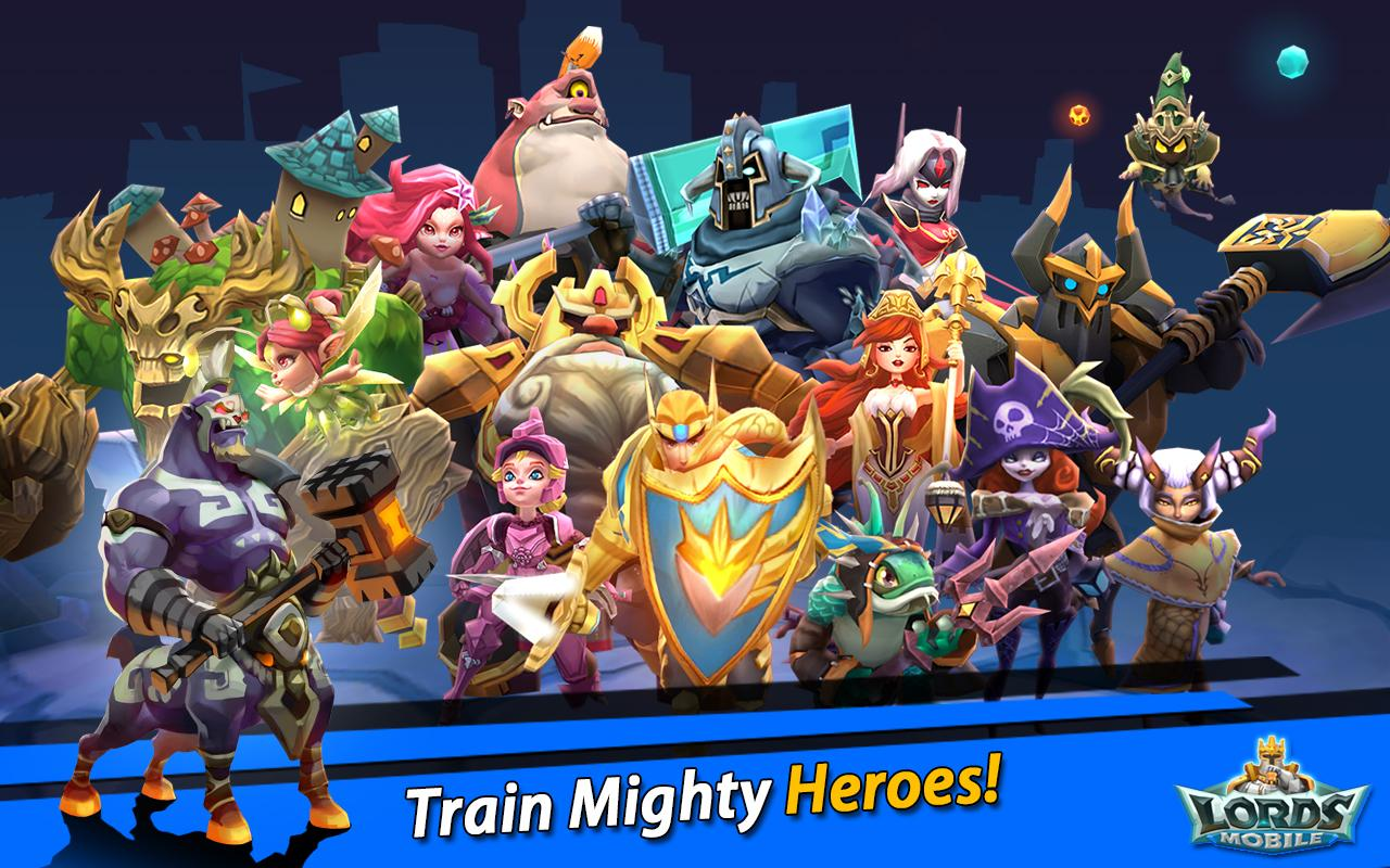 Image result for lords mobile heroes