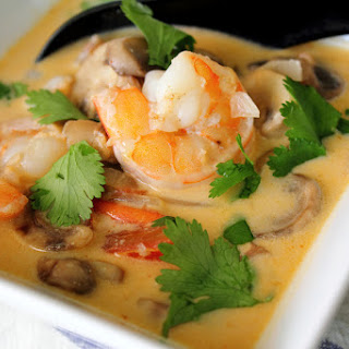 Thai Coconut Soup With Shrimp
