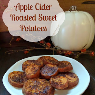 Apple Cider Roasted Sweet Potato