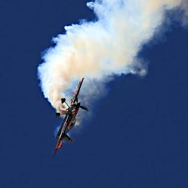 stunt plane by Jesse Howard - Transportation Airplanes ( dayton air show )