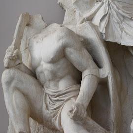 Roman Warrior, Ephesus, Turkey by Rhetta Sweeney - Artistic Objects Other Objects ( warrior, sculpture, ephesus, turkey, roman )
