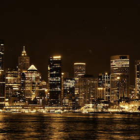 Sydney Harbour by Ajay Sharma - City,  Street & Park  Skylines