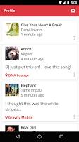 Screenshot of MusicID