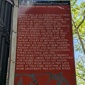 NEW YORK LANDMARKS PRESERVATION FOUNDATION COBBLE HILL HISTORIC DISTRICT COBBLE HILL IS AN EXCEPTIONALLY RICH DISTRICT, BOTH HISTORICALLY AND ARCHITECTURALLY. JENNIE JEROME, THE MOTHER OF WINSTON ...