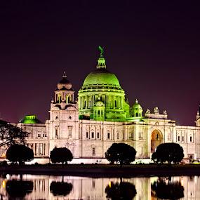 Victoria Memorial , Kolkata by Chiradeep Mukhopadhyay - Buildings & Architecture Public & Historical ( kolkta, victoria memorial )
