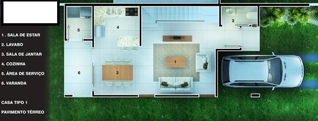 Metta Imobiliária - Casa 3 Dorm, Campeche (CA0496) - Foto 7