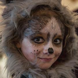 Wolf Girl by Debbie Slocum Lockwood - Public Holidays Halloween