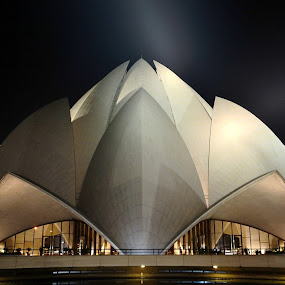 lotus temple by Siddhartha Chitranshi - Buildings & Architecture Other Exteriors ( lotus temple, delhi )