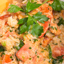 lobster crab creole by JERry RYan - Food & Drink Plated Food