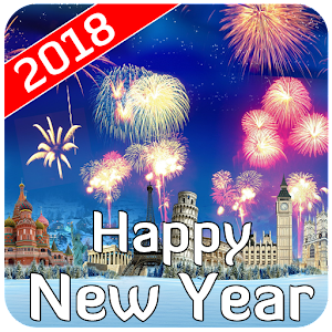 Download Happy New Year 2018 Wishes Wallpaper Images SMS For PC Windows and Mac