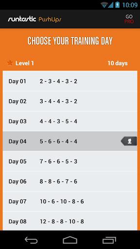 Runtastic Push-Ups Counter & Exercises screenshot 3