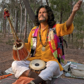 Musician at Heart...Indian Folk musician by Sutapa Karmakar - People Street & Candids