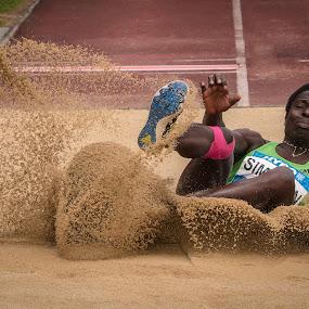 Long Jump by Horizon Photo - Sports & Fitness Other Sports ( athletics, sport, long jump, götzis, leichtlathletik )
