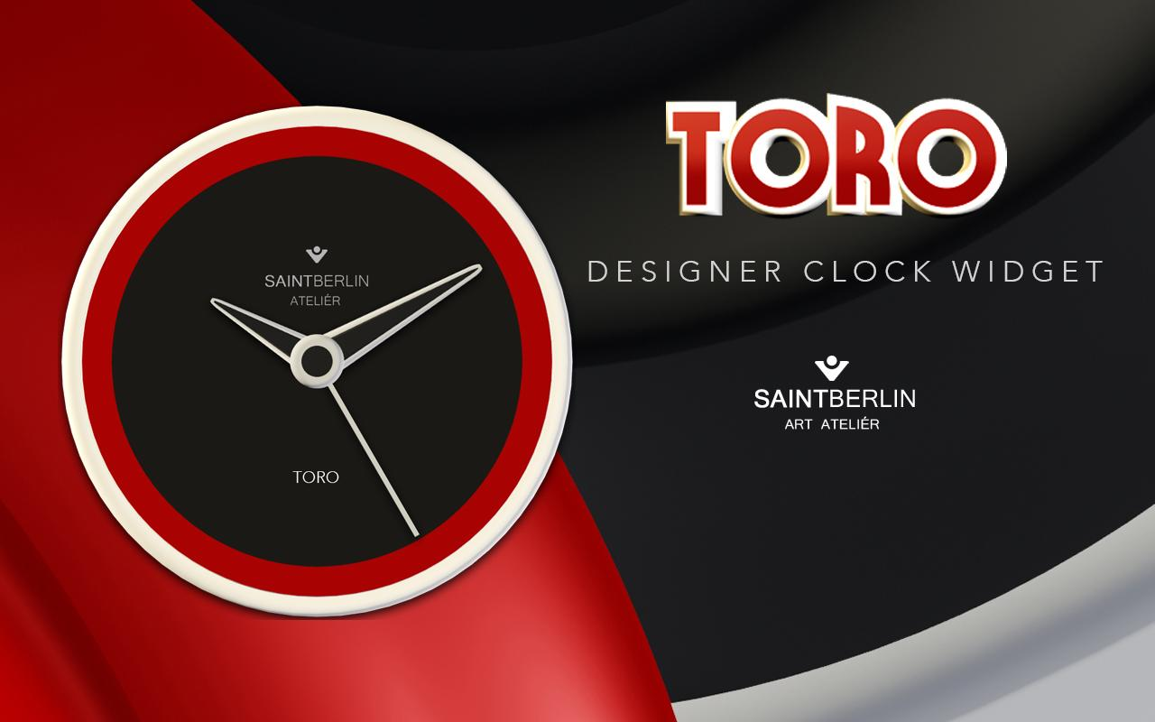 Toro Clock Widget Screenshot 2