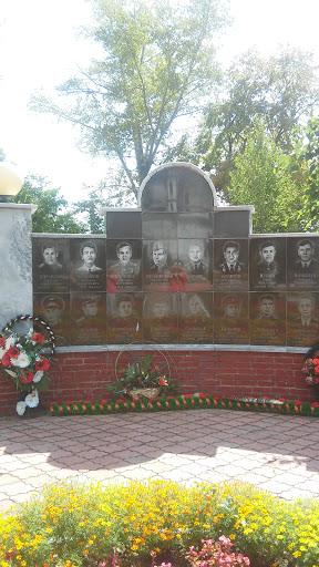 Памятник Погибшим В ВОВ г.Алатырь