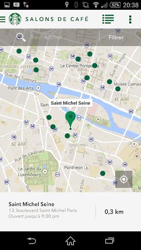 Starbucks France screenshot 4