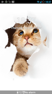 GO Locker Cheery Kitty Theme - screenshot