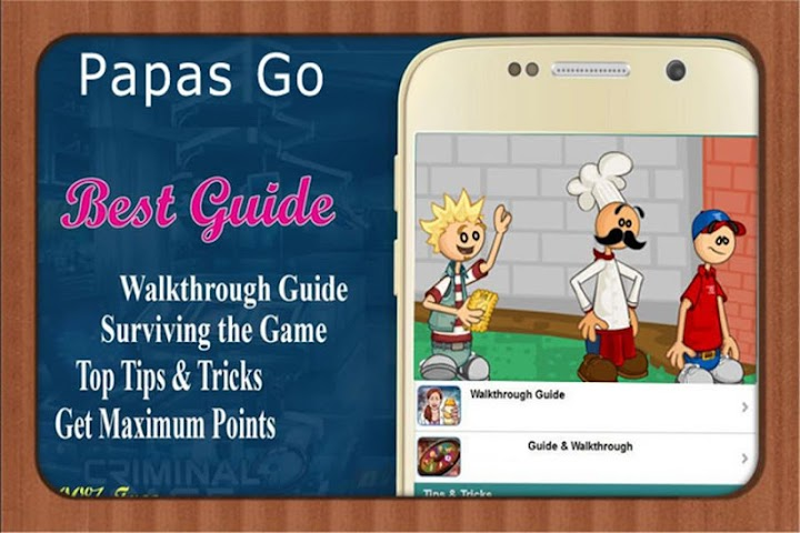 android RP Guide for papas freezeria Screenshot 0