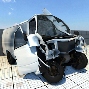 Accident Car Crash Engine - Beam Next Online PC (Windows / MAC)