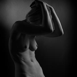 save me by Reto Heiz - Nudes & Boudoir Artistic Nude ( studio, erotic, sexy, lowkey photography, nude, nudeart, sensual )