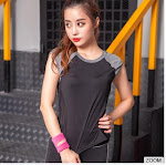 Breathable Durable Wricking Stretch Wholesale Gym Clothing Sports T Shirt Short Sleeve Fitting Women Running T Shirt
