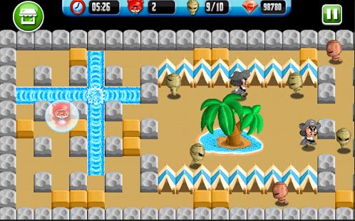 لعبة Bomber Man 2015