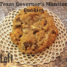 Texas Governor's Mansion Cookies...with a twist