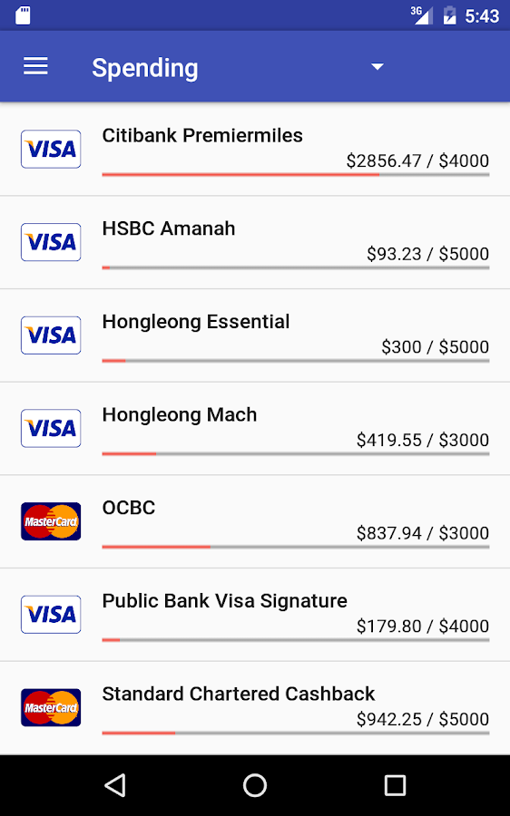 Credit Card Manager Pro Screenshot 19