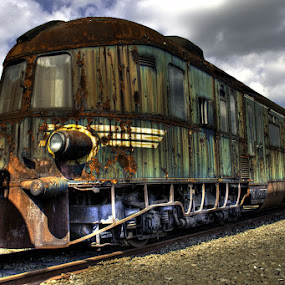 Train Graveyard by Bert Willers - Transportation Trains