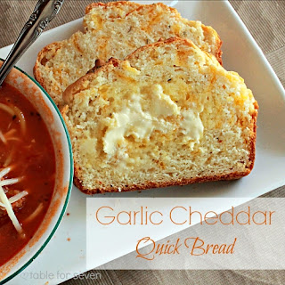 Garlic Cheddar Quick Bread Recipes
