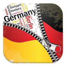 Germany Flag Zipper ScreenLock