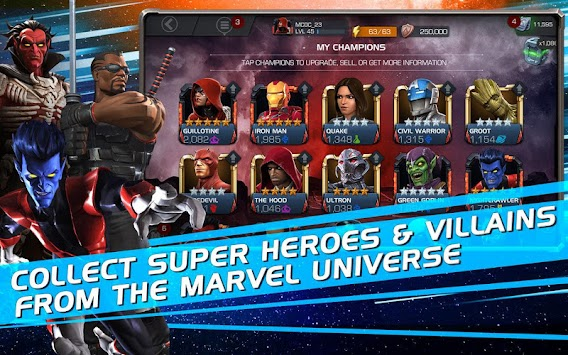 MARVEL Contest Of Champions APK screenshot thumbnail 15