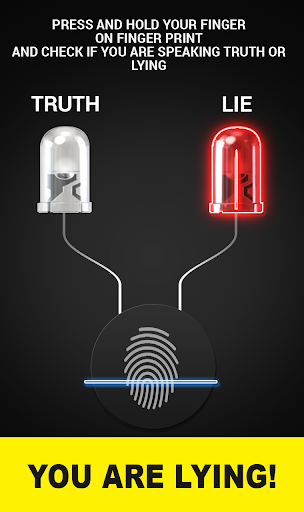 Finger Lie Detector prank App For PC