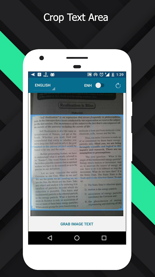 OCR Text Scanner  pro : Convert an image to text Screenshot 1