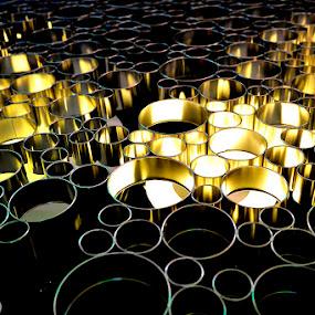 Light Tubes by Alex D.  Veriga - Abstract Patterns ( abstract, light tubes, alex veriga, patterns, 2013, l7 )