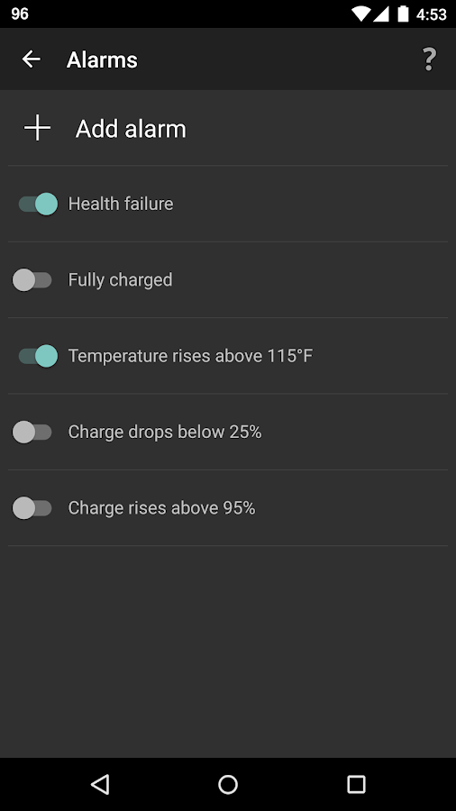 BatteryBot Pro Screenshot 3